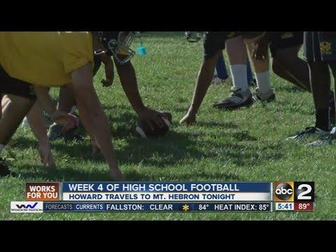 Hebron vs. Howard -- high school football