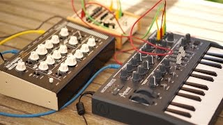 Vermona RetroVerb Lancet - unboxing / test with Microbrute,Tr09 and Jp08 (Riamiwo StudioVlog 38)