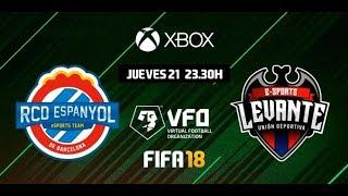 VFO XBOX T3 J1 | RCD Espanyol eSports - Levante UD eSports