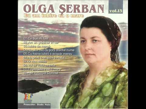 Olga Serban - Nu privii c-un ochi trecutul