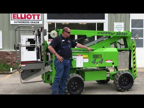 Niftylift SD34T Diesel and Electric Functions and Features