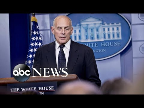 John Kelly speaks out after leaving White House