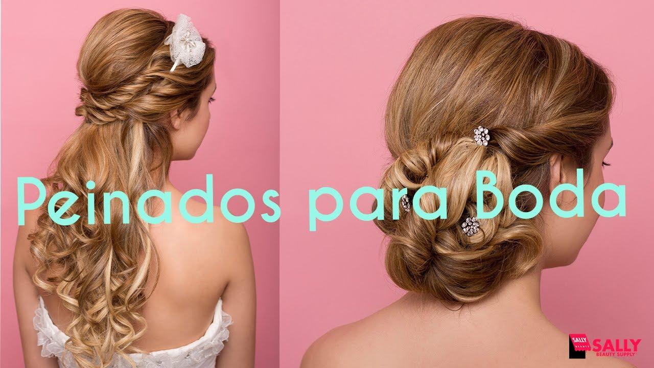 f1c94dc1a Ideas de Peinados para Boda - YouTube