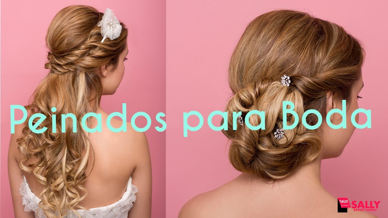 Ideas de peinados para boda youtube - Peinados elegantes para una boda ...