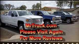 MrTruck review 2015 Heavy Duty Silverado and Sierra towing trailers