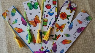 How To Make A Bookmark Using Cardmaking Techniques