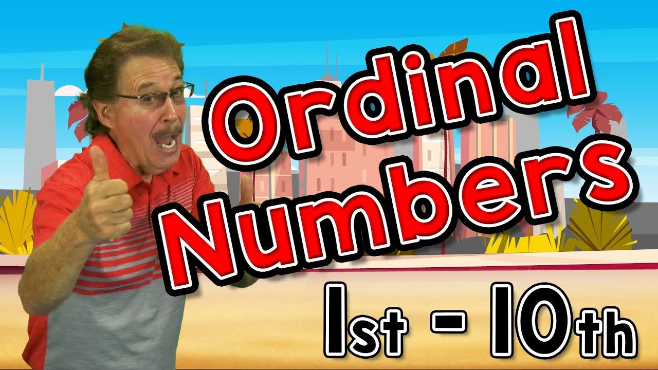 Ordinal Numbers | Jack Hartmann
