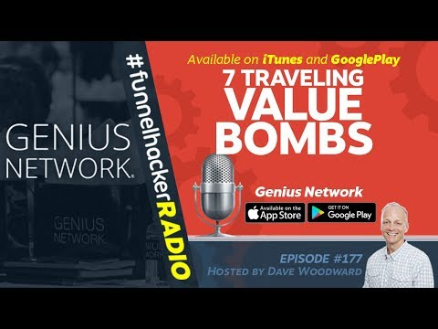 Funnel Hacker Radio 177 - 7 Online Marketing Value Bombs From Genius Network - 동영상