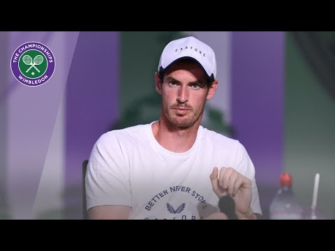 Andy Murray Wimbledon 2019 Pre-Tournament Press Conference ...