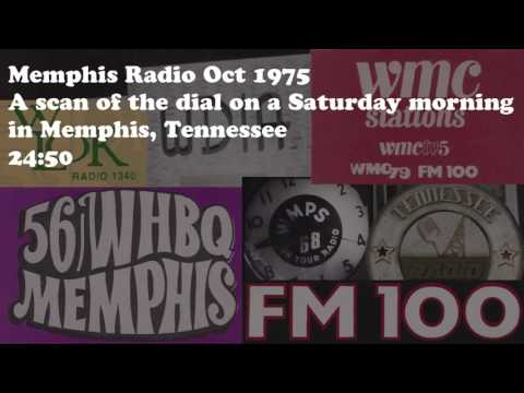 Memphis Radio Aircheck October 1975