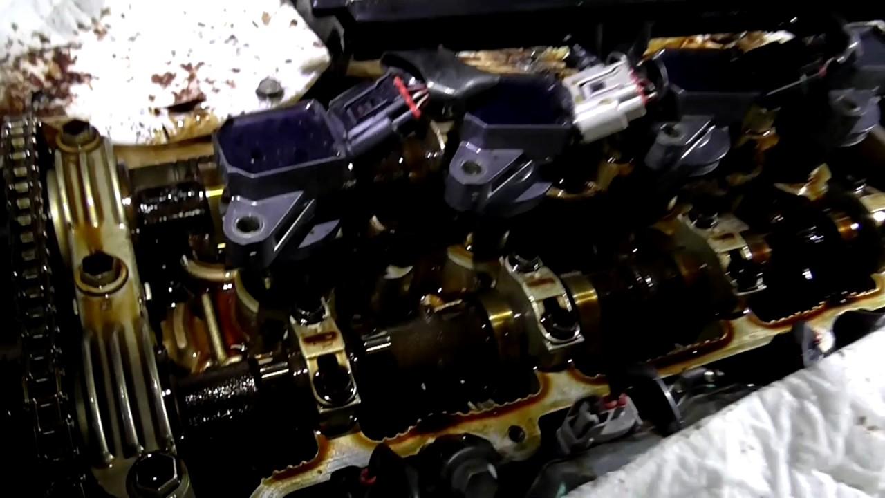 Работа 1ZZ-FE без клапанной крышки