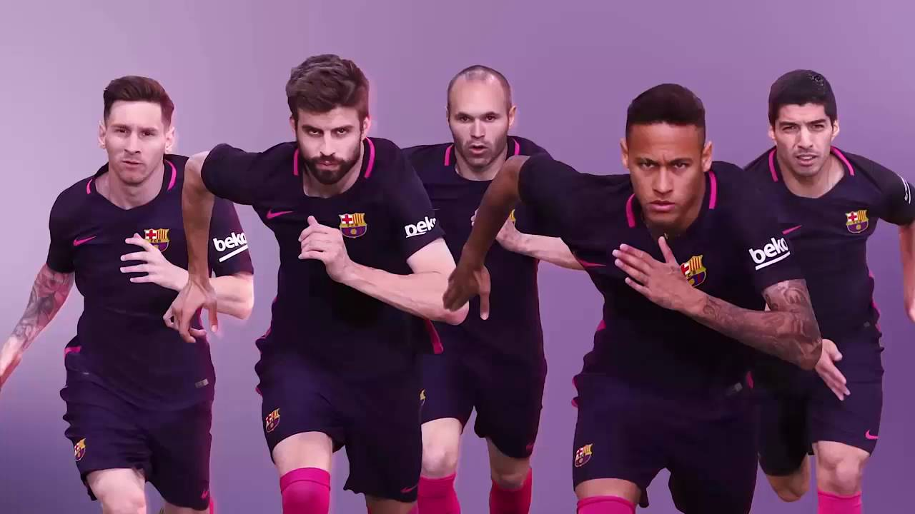 VIDEO CAMISA AWAY BARCELONA 2016 17 - YouTube dbde2ebbe5057