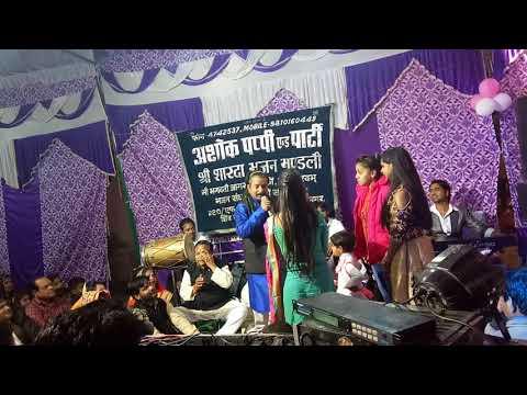 Ashok pappi& party  M 9810160449 (9810160446)meerut Mehta Bhagwati ka jagran