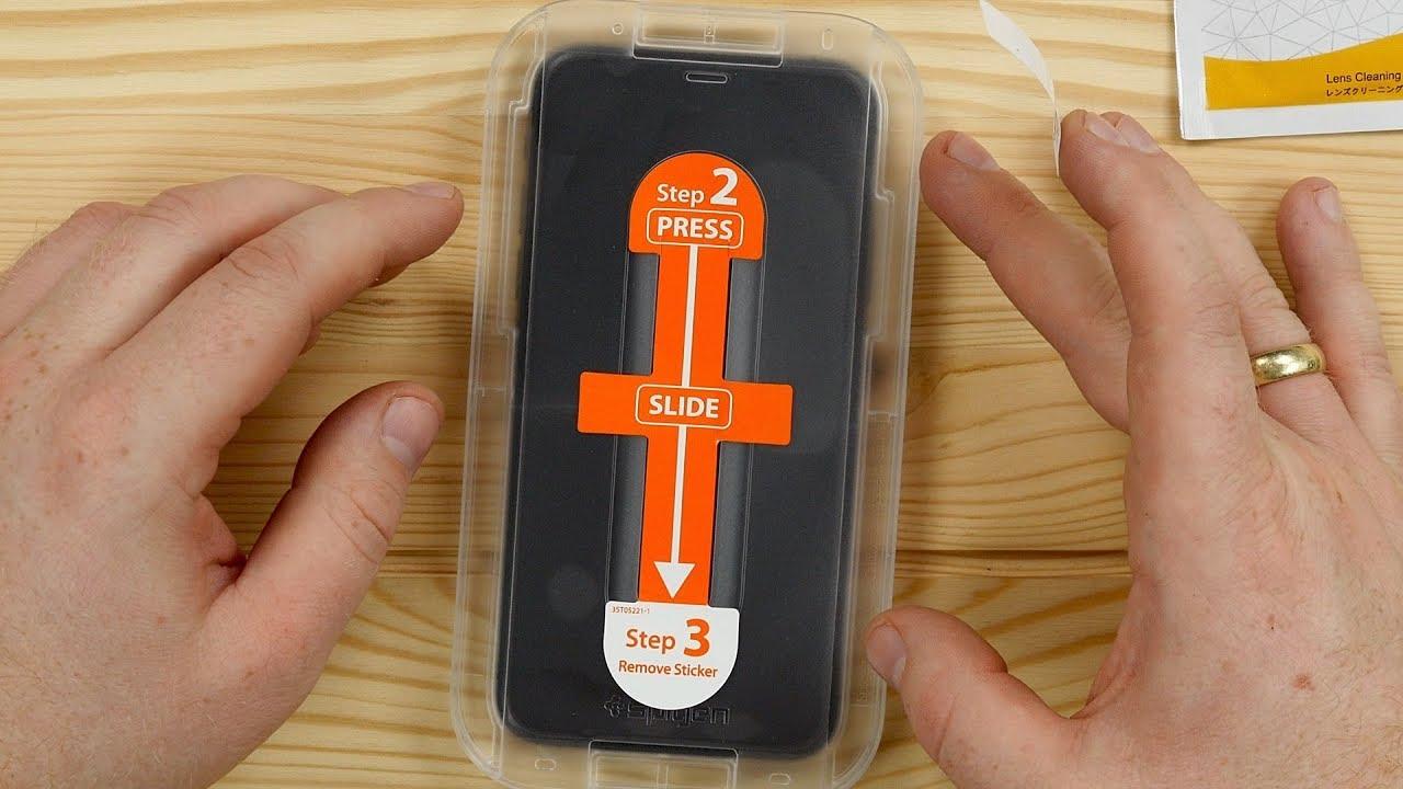 Iphone xs max matt panzerglas