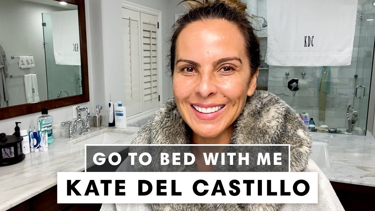 Kate del Castillo's Anti-Aging Nighttime Skincare Routine | Go To Bed With Me | Harper's BAZAAR
