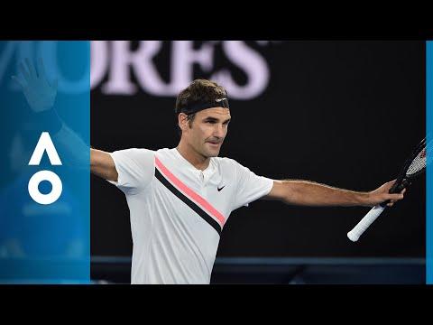 Aljaz Bedene v Roger Federer match highlights (1R) | Australian Open 2018