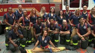 New York's Bravest strike a pose to help benefit FDNY Foundation