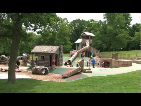 Lake Rebecca Park Reserve - Rockford, MN - Visit A Playground - Landscape Structures