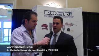 Biomet 3i FACD 2014 Thumbnail