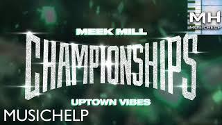 Meek Mill - Uptown Vibes INSTRUMENTAL/KARAOKE ft. Fabolous & Anuel AA Best Quality