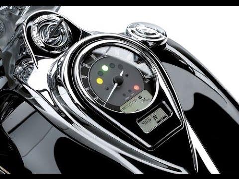 Kawasaki VN1700 Classic Tourer - YouTube