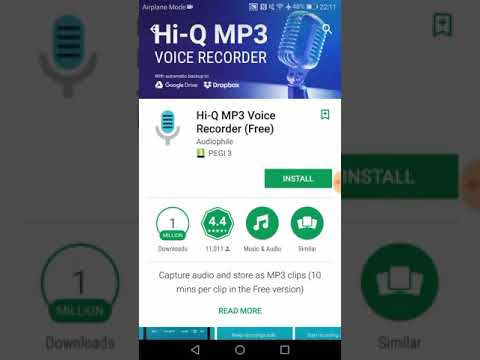 How to Download and Install Hi-Q mp3 Voice Recorder on Android