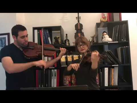 The Twelve Days of Christmas  Violin & Viola Duo