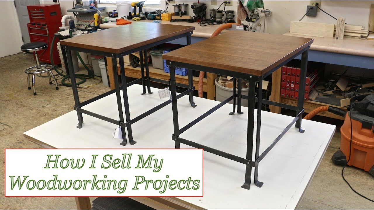 Ep 34 How I Sell My Woodworking Projects