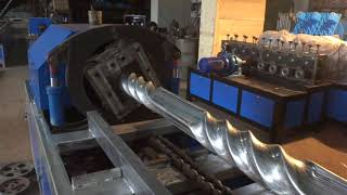 pipe  twisting machine