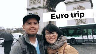 Mega's Travel Vlog - Euro Trip