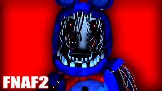 THIS GAME IS HARDCORE!! - FNAF 2 - Part 3 (Five Nights At Freddy