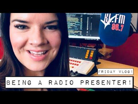 Friday Vlog! Being A Radio Presenter 📻