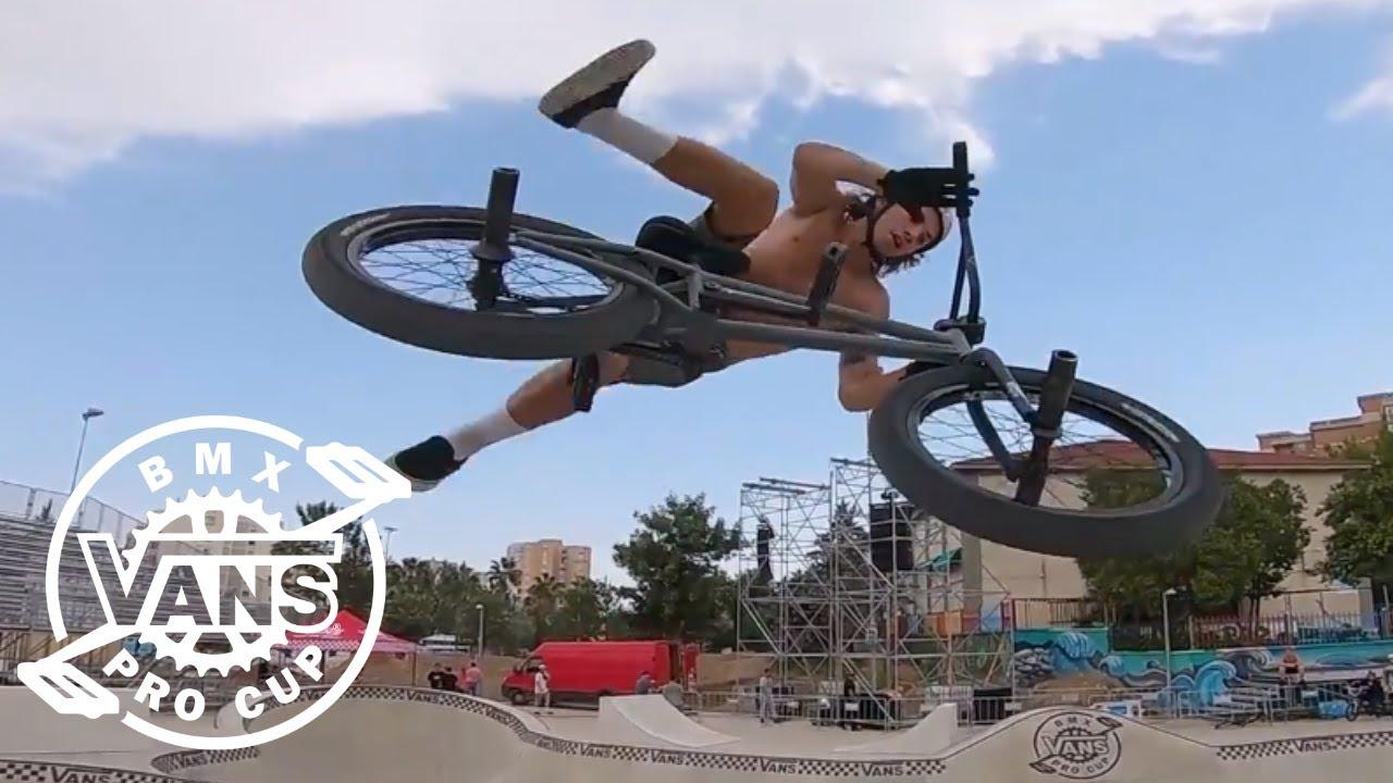 da1595245e Vans BMX Pro Cup 2018 Spain GoPro Course Preview Featuring Tyler Fernengel
