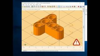 How to design Lego part STL file. (How to model Lego STL by Lego Software) turn on subtitle