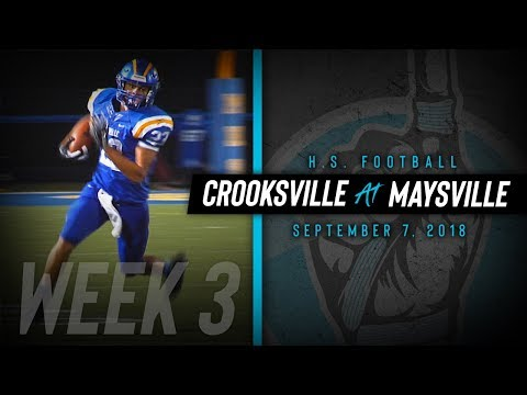 HS Football | Crooksville at Maysville [9/7/18]