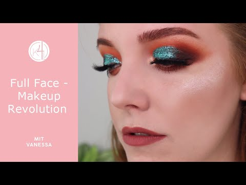 Full Face Makeup Mit Makeup Revolution Neuheiten | Kosmetik4less.de