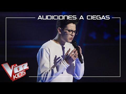 El cordobés Javier Crespo canta 'All I want' y conquista La Voz Kids