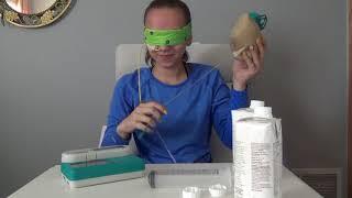 BLINDFOLDED FEEDING TUBE CHALLENGE!!!