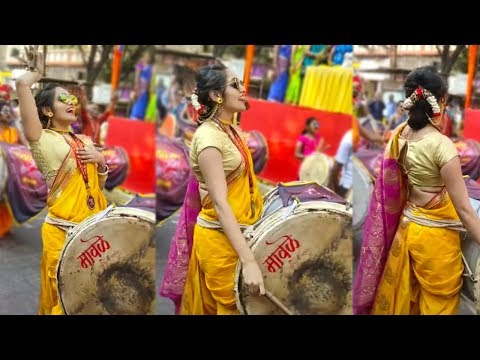 Dhol Performance By Cute Indian Young Girls 2019
