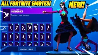 "*NEW* ""Rosa"" SKIN SHOWCASE WITH +100 FORTNITE DANCES & EMOTES..!!"