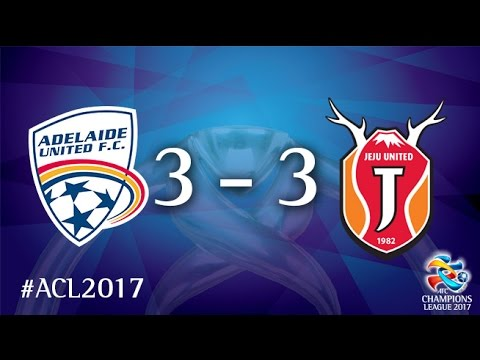 Resultado de imagem para Adelaide United vs Jeju United (AFC Champions League 2017 : Group Stage - MD3)