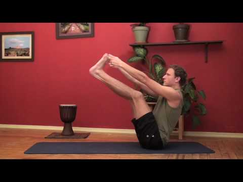 Yoga: Double Toe Hold (Ubhaya Padangusthasana)