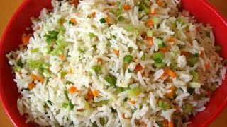 "Tasty Kerala Style Vegetable ""fried Rice"""