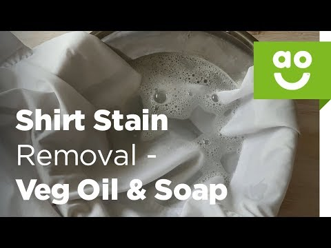How to Remove a Vegetable Oil Stain from Clothes | ao.com