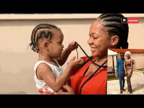 Meet Mark Angel || The popular Nigeria || Comedian's Wife and Daughter