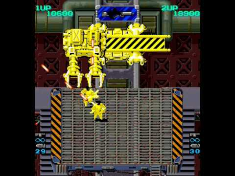 Heavy Barrel arcade 2 player Netplay