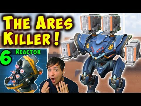 The ARES KILLER - Max Damage TULUMBA SPECTRE War Robots Mk2 Gameplay WR