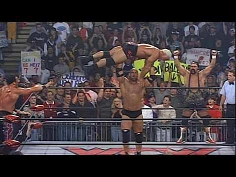 Goldberg & Rick Steiner vs. Buff Bagwell & Scott Steiner: WCW Monday Nitro, March 1, 1999