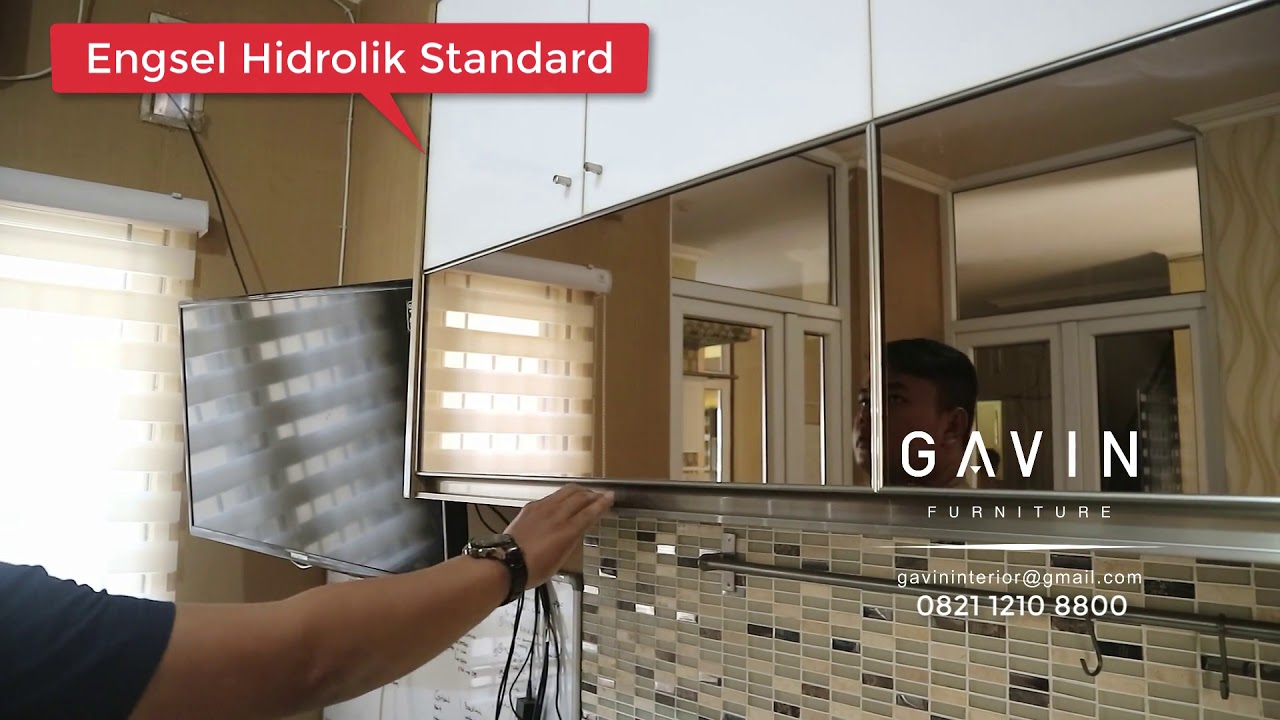 Engsel Hidrolik Standard Gavin Furniture Youtube