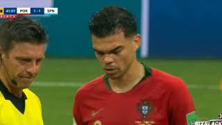 Samenvatting van Spanje Portugal WK Rusland